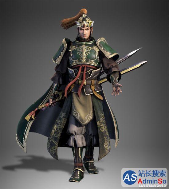 《真三国无双8》6大武将造型公布:刘皇叔胡子回归,貂蝉依旧美得让人心醉