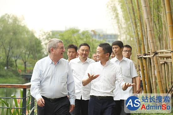 马云和国际奥委会主席巴赫能擦出怎样的火花?