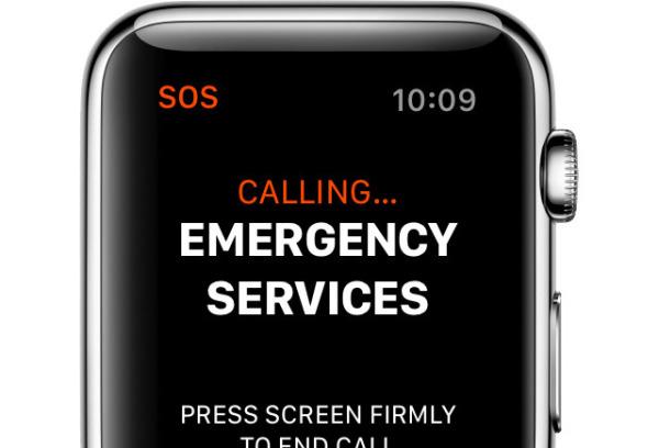 Apple Watch 3 LTE版可免激活拨打紧急电话