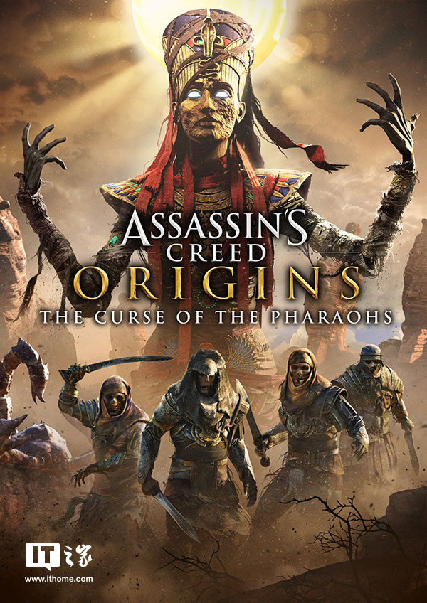 育碧公布《刺客信条:起源》新DLC演示:可与法老灵魂战斗
