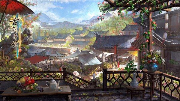 《古剑奇谭三》部分游戏场景公布:宫殿寰宇巍峨大气