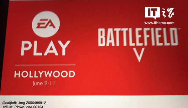 EAPlay宣传图曝光:年度FPS《战地5》即将到来