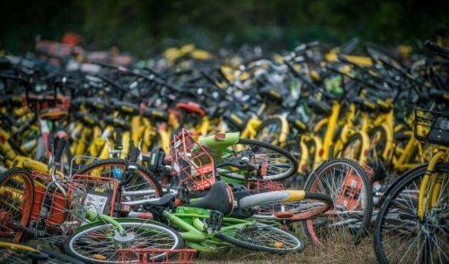 广州废弃共享单车超30万辆清理回收问题突出