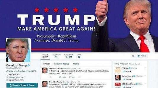 推特清理僵尸粉:特朗普掉粉38万奥巴马掉粉200多万