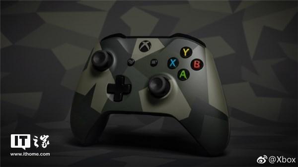 """真手柄大厂!微软公布""""丛林武力""""主题Xbox手柄"""