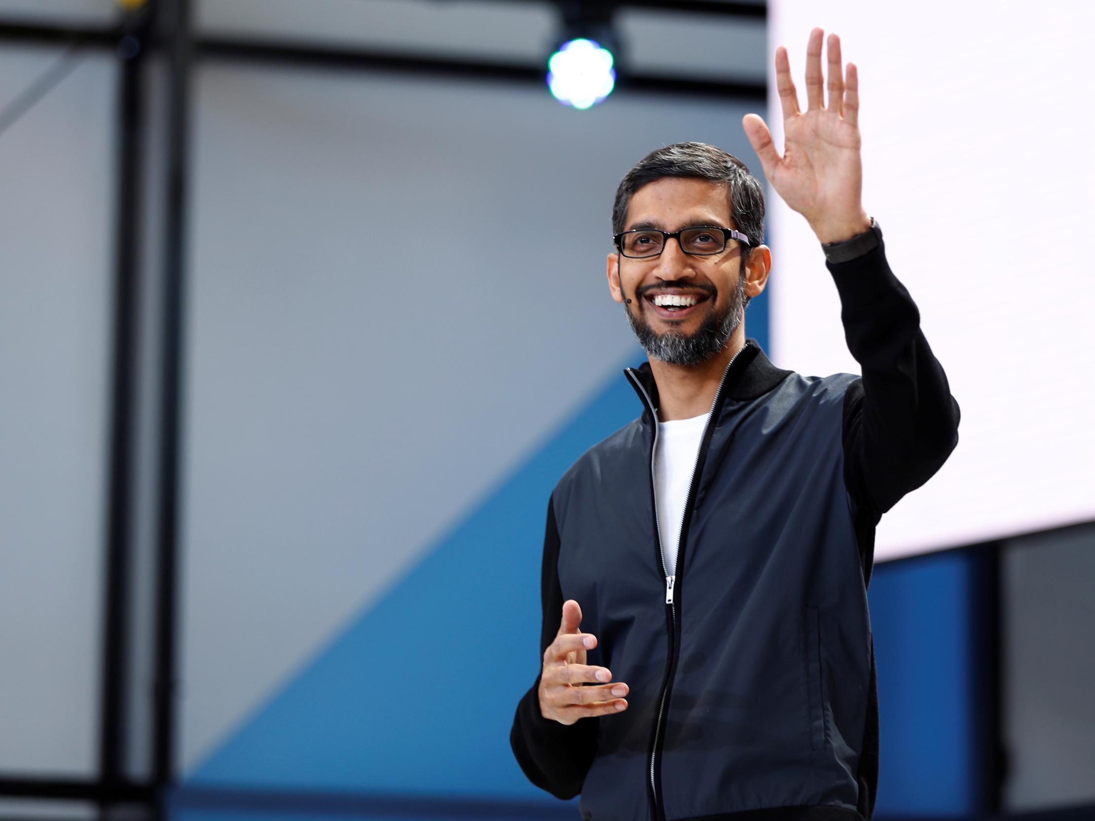 谷歌CEO皮查伊:中国版搜索就算有也不会