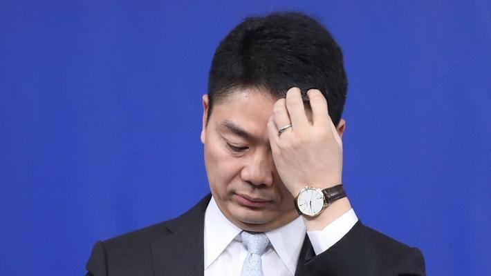 路透社报道刘强东案京东开盘一度下跌5%创新低