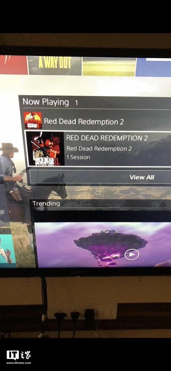 评测媒体已开玩?PS4运行《荒野大镖客2》截图曝光