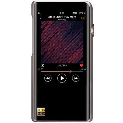 2598元,双向蓝牙DAC:山灵M5S无损音乐播放器首发上市