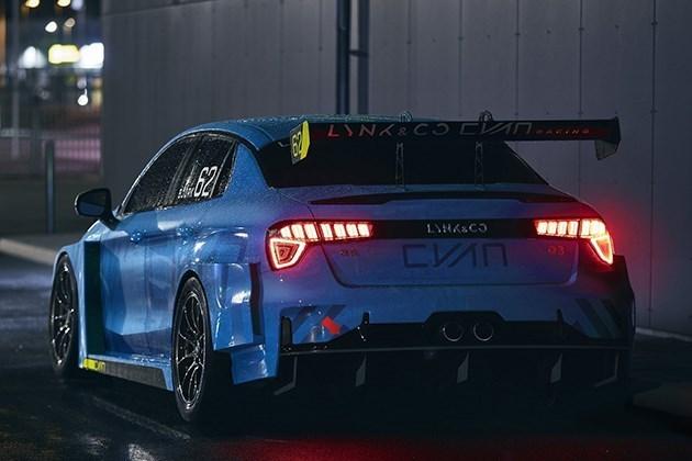 领克03WTCR赛车发布:运动外观超燃