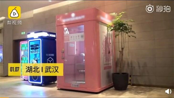 武汉现共享化妆间:最贵收费45分钟58元,均是名牌