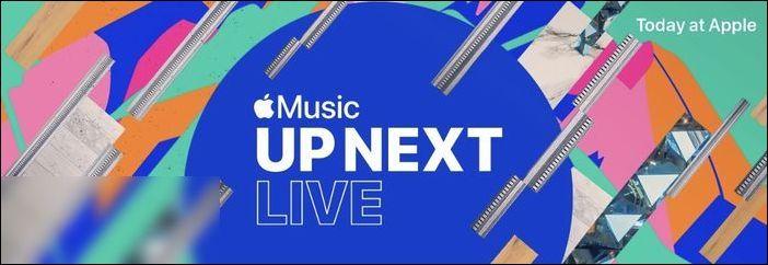 苹果公布零售店将举行UpNextLive演唱会