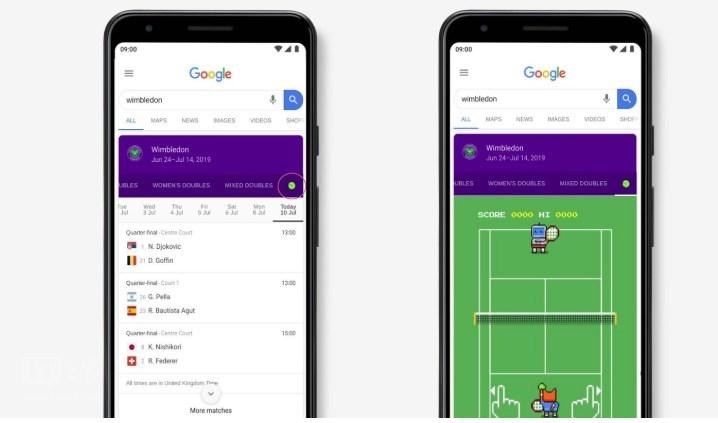 满满像素风!谷歌温网复活彩蛋网球小游戏免费玩
