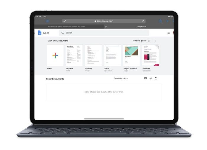 iPadOS版Safari已经支持访问部分桌面版网站