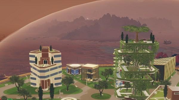 喜加一!Epic免费领取科幻城市建造游戏《火星求生》