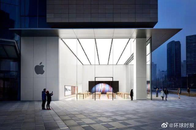 应对新冠病毒疫情,苹果临时关闭中国三家门店