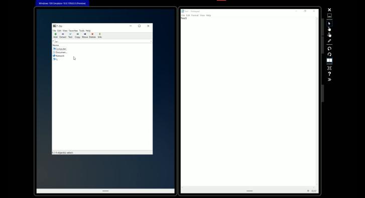 运行于微软Windows10X上的Win32应用将受到诸多限制