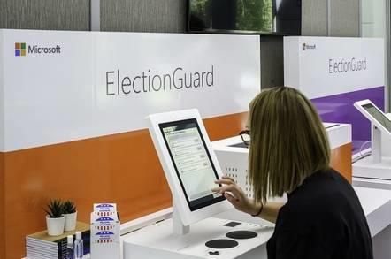 微软ElectionGuard投票机软件将真实测试,运行在Surface触摸电脑上