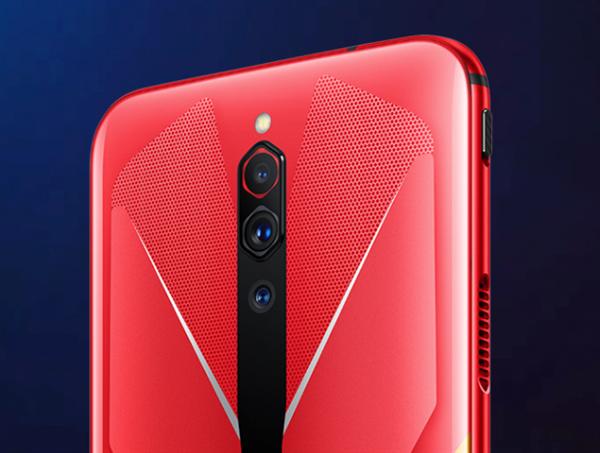 144Hz电竞屏红魔5G游戏手机今日首卖