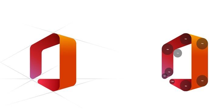 微软揭示全新OfficeLogo设计理念过程(视频)