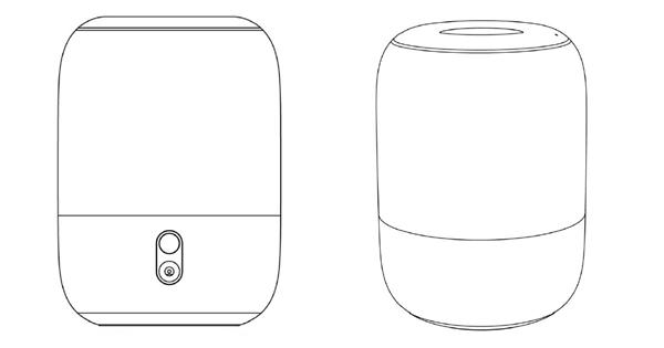 专利曝光小米迄今最大音箱:360度环绕声场、OLED触控面板