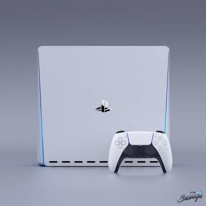 大师设计索尼PlayStation5:圆润优雅你喜欢吗?