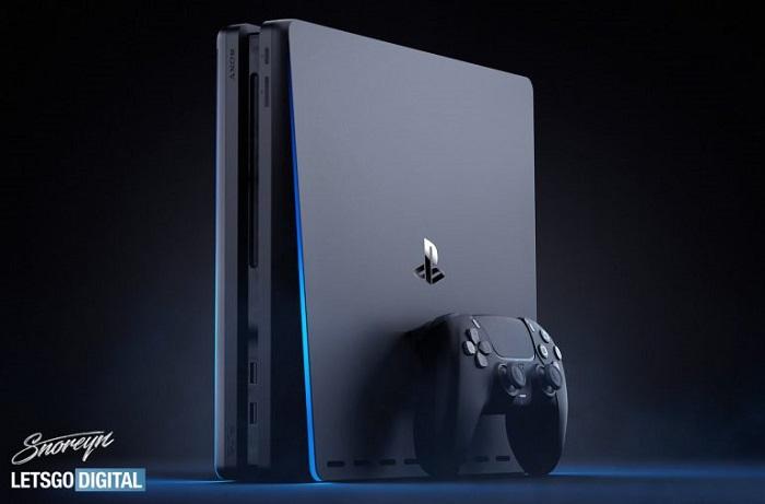 设计师分享黑色外观的PS5主机DualSense手柄概念图