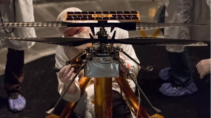 NASA火星直升机名字公布:Ingenuity