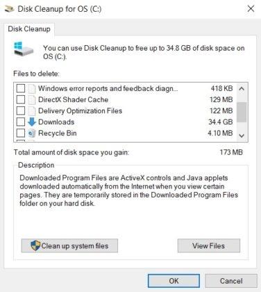 微软Win10版本2004已解决磁盘清理Bug