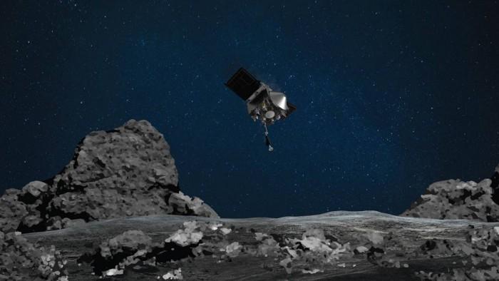 NASA宣布10月20日将对小行星Bennu进行TAG采样