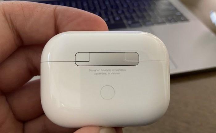 真机图像确认开始有苹果AirPodsPro在越南组装