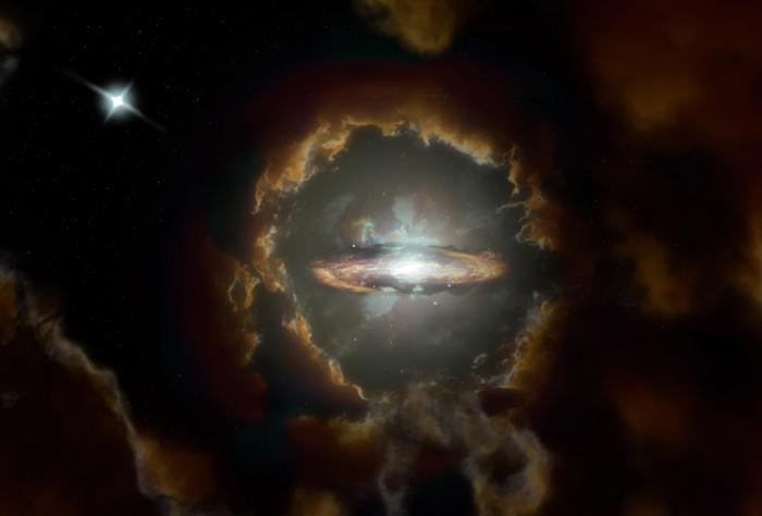 古老盘状星系WolfeDisk的形成时间比以前认为的要早45亿年