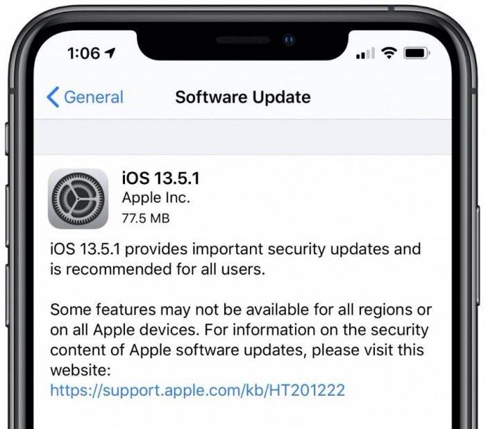 iOS和iPadOS13.5.1公布修复越狱漏洞带来的安全问题