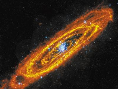 """百亿光年外有个""""宇宙火环""""恒星形成速度为银河系50倍"""