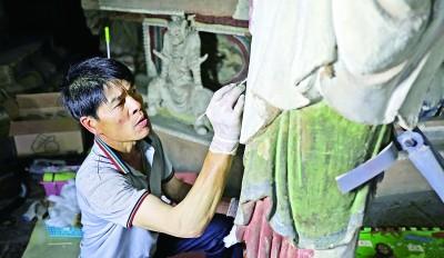 千年古寺进行一期保护修复