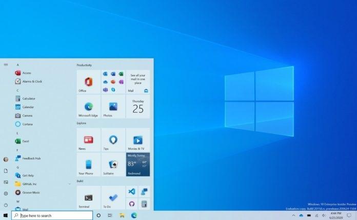 """微软全新Win10流畅设计""""开始""""菜单上手体验:简洁、现代"""