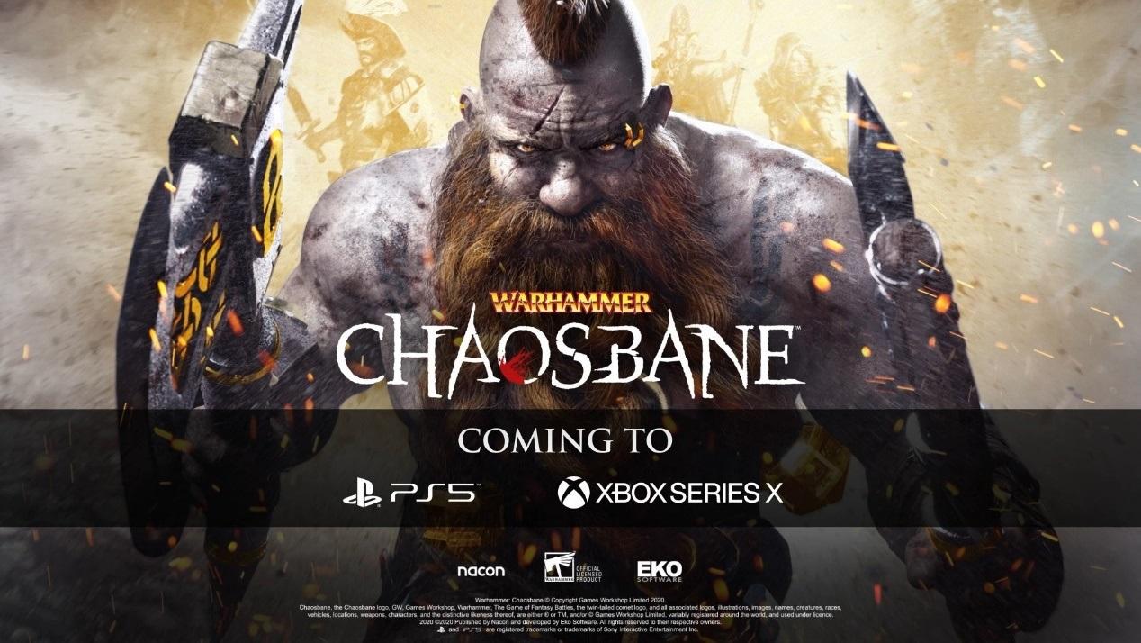 《战锤:混沌祸源》追加登陆PS5/XSX平台未来将公开更多细节