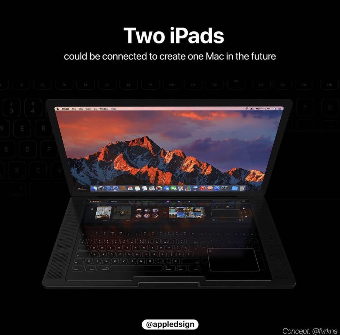 苹果申请神秘专利:可将iPad变成笔记本式电脑