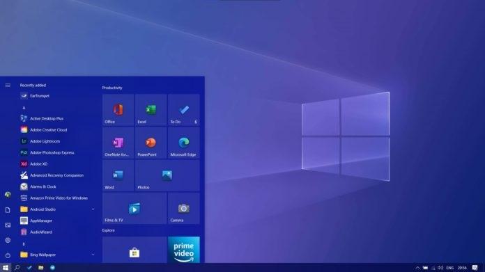 """微软Win10版本2004如何强制开启全新""""开始""""菜单"""