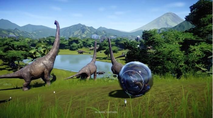 《侏罗纪世界:进化》完整版11月3日登陆Switch