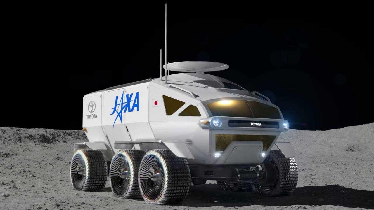 """日本JAXA和丰田将他们的月球漫游车命名为""""LUNARCRUISER"""""""