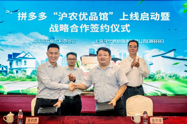 拼多多与上海政府合作:推动优质农产品上行新电商