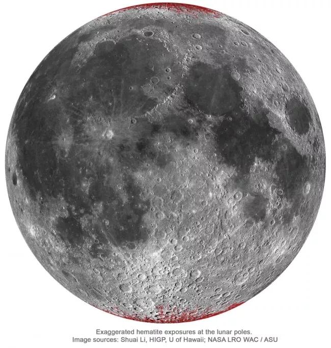 """月亮居然""""生锈""""了原因竟是这样"""