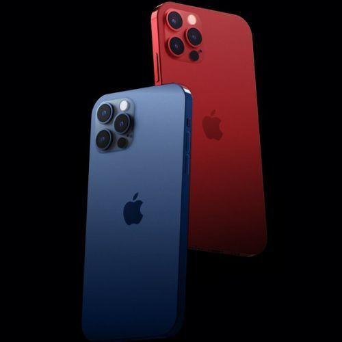"""iPhone12Pro新配色曝光了:""""红蓝CP""""能否现身?"""