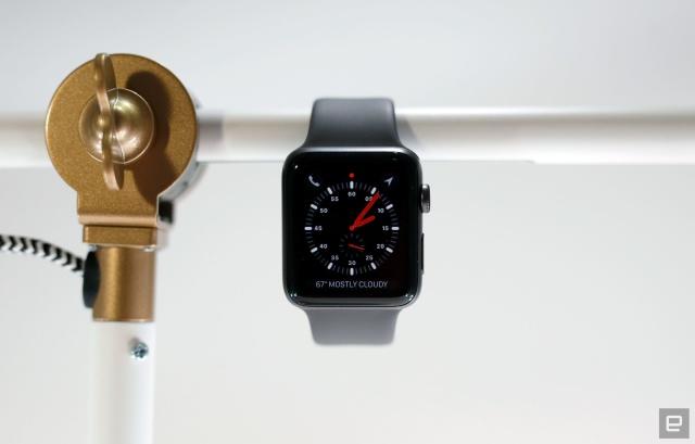 苹果AppleWatch3用户反映升级watchOS7后出现BUG