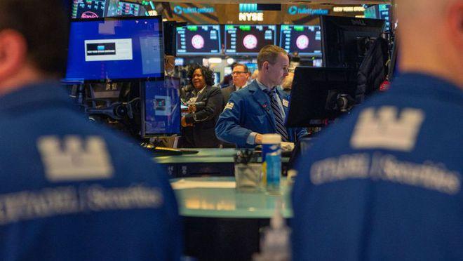 美股结束四连涨道指跌超150点苹果发布会后跌近3%