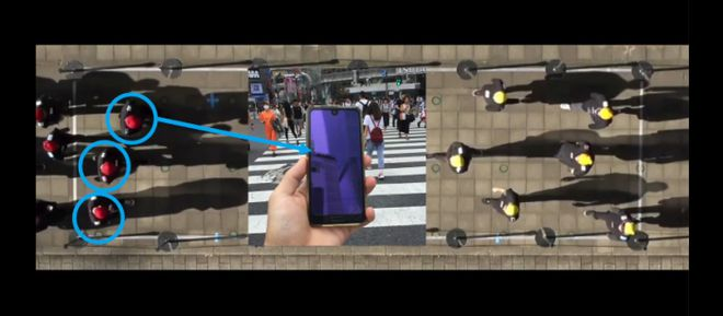 研究称手机成瘾导致了行人交通的堵塞