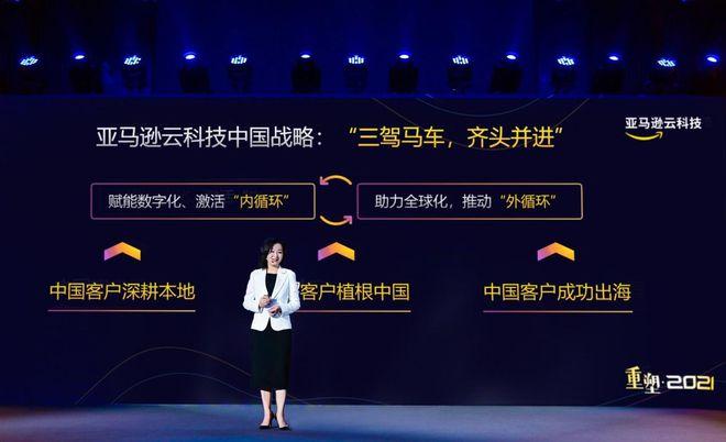 """亚马逊云科技首次正式发布""""三驾马车""""的中国业务战略"""