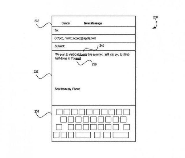 iPhone打字出错还能即时纠正?这就是苹果的新专利