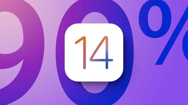 推出不到7个月,苹果iOS14采用率预估达90%
